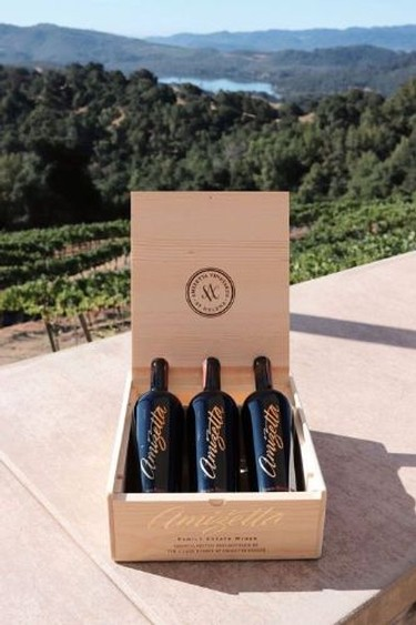 3 Bottle Wood Box Reserve Cabernet Gift Set